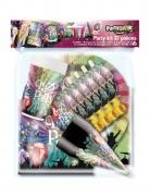 Kit de fête Crazy Party 6 personnes 37 pièces