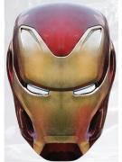 Masque en carton Iron man Avengers Infinity War™ adulte