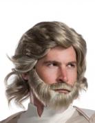 Perruque et barbe Luke Skywalker The Last Jedi™ adulte