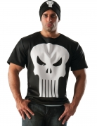 T-shirt avec bonnet Punisher™ adulte