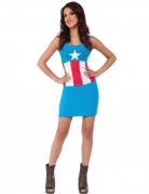 Déguisement robe American Dream Captain America™ femme