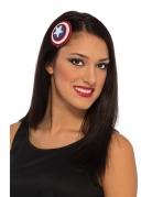 Pince à cheveux Captain America™ femme