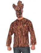 T-shirt et masque Groot Les Gardiens de la Galaxie™ adulte