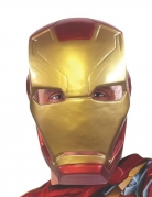 Masque 1/2 Iron Man Captain America Civil War™ adulte