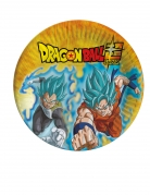 8 Assiettes en carton Dragon Ball Super™ 23 cm