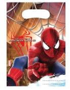 6 Sacs de fête The Amazing Spiderman™ 17 X 23 cm