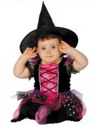 Déguisement sorcière rose bébé