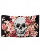 Vous aimerez aussi : Drapeau squelette fleuri noir 90 x 150 cm