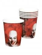 Vous aimerez aussi : 6 Gobelets en carton Clown terrifiant 25 cl