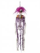 Suspension squelette clown 40 cm