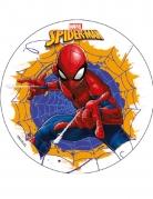 Disque en amidon Spiderman™ 18,5 cm