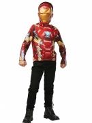T-shirt avec masque Iron Man™ enfant