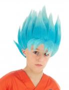 Perruque bleue Goku Saiyan Super Dragon ball Z™ enfant