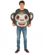 Déguisement Emoji Singe™ adulte