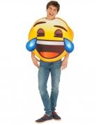 Déguisement Emoji fou rire™ adulte