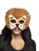 Demi masque lion adulte