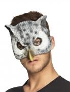 Demi masque chouette adulte