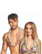 20 Colliers Hawaï argentés