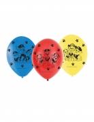 6 Ballons latex Pat' Patrouille™ 23 cm