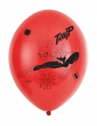 6 Ballons en latex Spider-Man™ 27,5cm