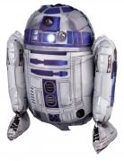 Ballon aluminium Star Wars R2 D2™ 45 x 42 cm