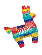 Ballon aluminium Piñata Lama Happy Birthday 73 x 83 cm