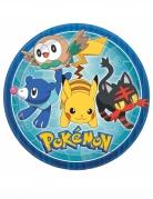 8 Assiettes Pokémon Core™ 23 cm