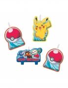 4 Bougies anniversaire Pokémon Core™