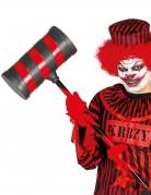 Marteau clown tueur rouge et noir adulte 79 cm