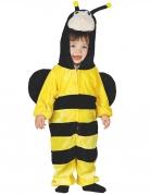 Déguisement combinaison abeille avec capuche bébé