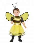 Déguisement robe abeille avec serre-tête bébé