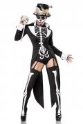 Déguisement prêtresse squelette sexy femme
