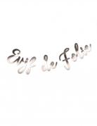 Guirlande EVJF de folie métal rose gold 1,10 m