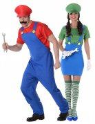 Vous aimerez aussi : Déguisement de couple plombier vert et rouge adulte