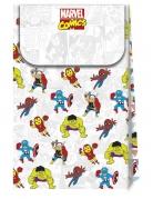 6 sacs cadeaux en carton premium Avengers™ pop comic 21 X 13 cm