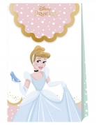6 sacs cadeaux en carton premium Princesses Disney™ 21 X 13 cm