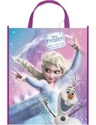 Sac cadeau en plastique La Reine des Neiges et Olaf™ 33 x 27 cm