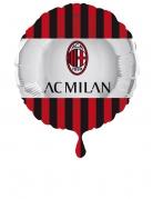 Ballon aluminium rond AC Milan™ 43 cm
