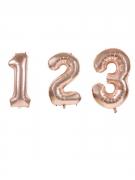 Vous aimerez aussi : Ballon aluminium chiffre rose gold 36 cm
