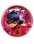 Disque en azyme Ladybug Miraculous™ 21 cm aléatoire