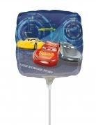 Petit ballon en aluminium carré Cars 3™ 23 x 23 cm