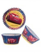 50 Moules à cupcake Cars™ 5 x 3 cm