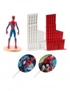 Kit décoration gâteau Spiderman™ 8 cm