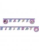 Guirlande Happy Birthday Minnie et la licorne™ 2 m