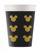 8 Gobelets en carton Mickey Gold™ 160 ml