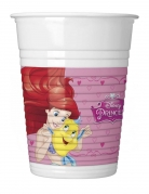 8 Gobelets en plastique Princesses Disney Dreaming™ 200 ml
