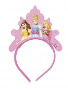 4 Tiares en carton Princesses Disney™ cœurs