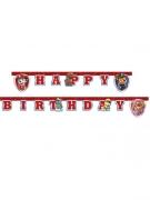 Guirlande Happy Birthday Pat'Patrouille prêt pour l'action™ 2 m