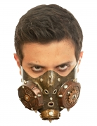 Demi-masque Steampunk adulte