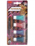 Set de 4 gels pailletés 3,5 ml